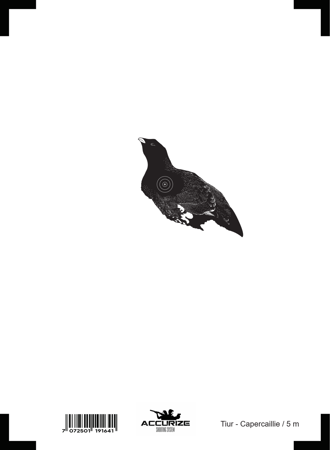 Wymienna tarcza - Capercaillie - Głuszec - 5m